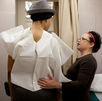 Patient receives free mammogram